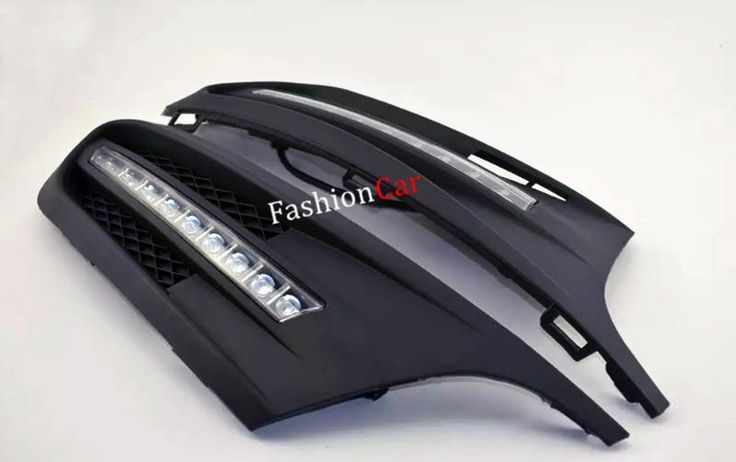 Car DRL daytime running lights 2pcs For Volkswagen Jetta 2012 2013 2014 low-equipped