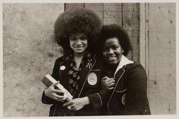 Afro ladies - Portobello Road, London, 1974 by Al Vandenberg.