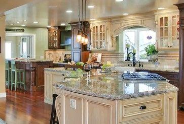 Tuscany style Kitchen/Great room - mediterranean - kitchen - san diego - Gourmet Galleys & Loos | Kitchen and Bath Design