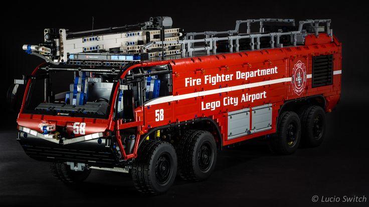 https://flic.kr/p/sdFrZu | Lego Technic Airport Crash Tender | That's my new…