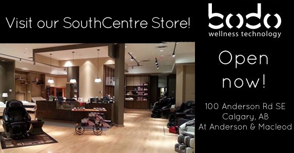 BODO Wellness Technology: 2nd level - 100 Anderson Road SW (Southcentre Mall) www.bodo.ca #YYC