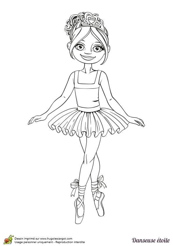 61 best images about coloriages de danse on pinterest - Coloriage de danseuse ...