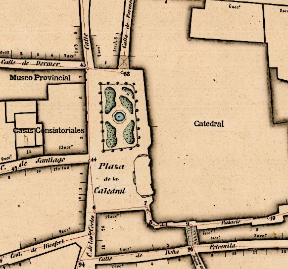 Mapa Huesca 1891