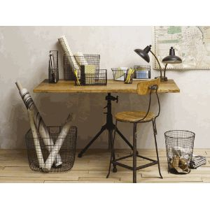 Itu0027s All About Vintage Wire Office Supplies. Vintage Office DecorVintage  DesksWire ...