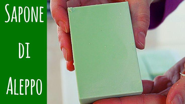 SAPONE DI ALEPPO FATTO IN CASA - Homemade Aleppo Soap