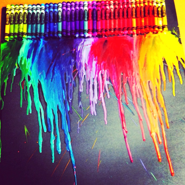 152 Best Images About Crayon Melts On Pinterest Melted