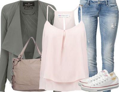 Schick und gleichzeitig cool zum ersten Date ist mit diesem Outfit kein Problem!…