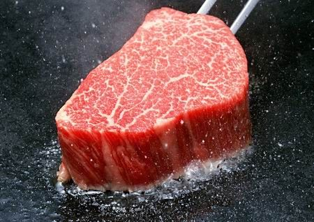 This is a Kobe beef. You haven't lived until you've tasted this :)