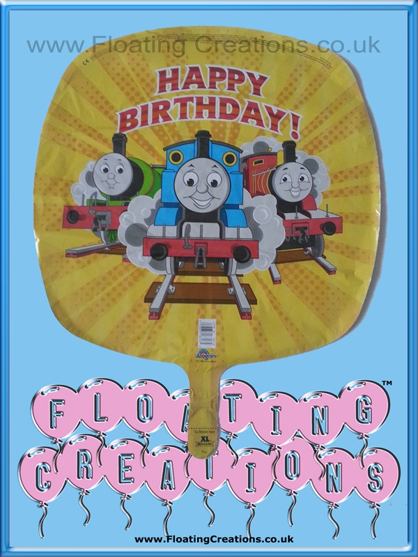 Thomas the Tank Engine Happy Birthday Balloon https://www.facebook.com/balloonsglasgow