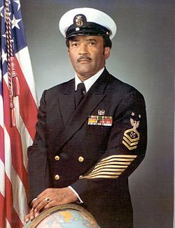 Carl Maxie Brashear (January 19, 1931 - July 25, 2006) became the first African-American U.S. Navy Master Diver, rising to the position in 1970. His life story is dramatized in the 2000 motion picture Men of Honor, in which he was portrayed by Cuba Gooding, Jr.