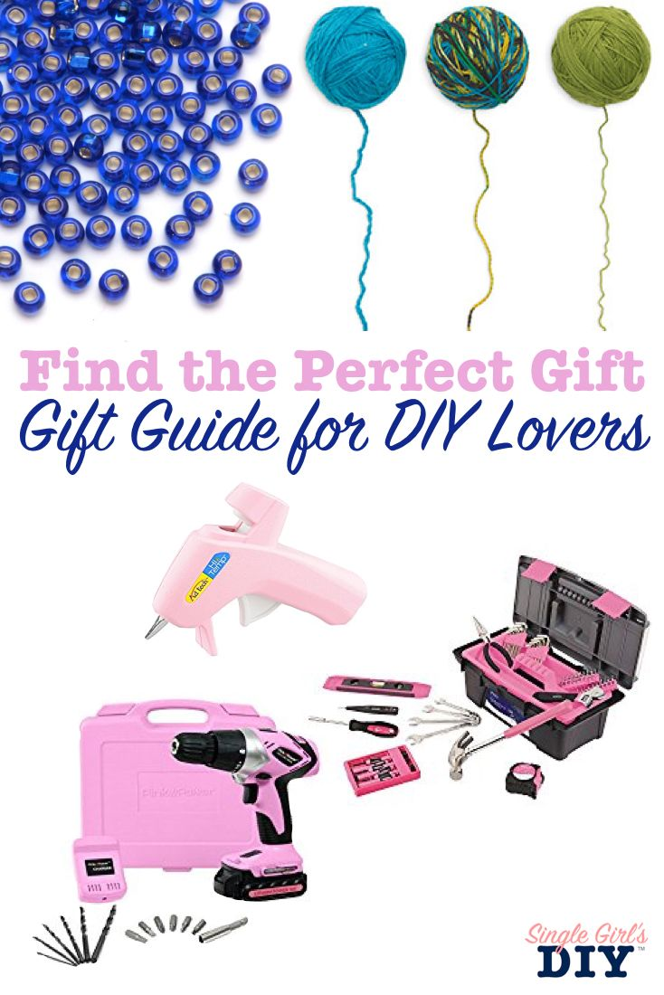 The Ultimate Gift Guide For Diy Lovers Diy For Girls Gift Guide Easy Crafts To Make