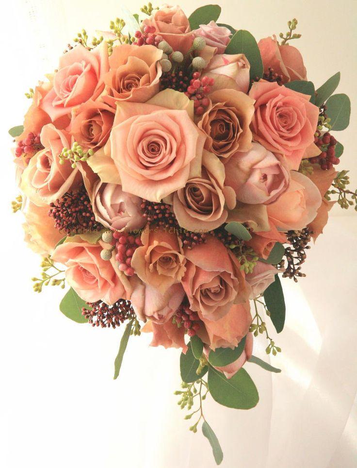 ブーケ ティアドロップ ジュリア ミラコスタ様 : 一会 ウエディングの花