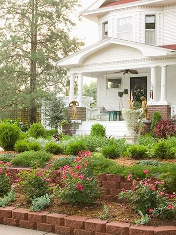 Fresh Front Entry Landscape Ideas