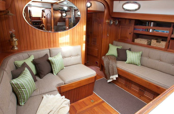 Sunbrella Marine Seating Inside The Boat Pinterest Beautiful Flats And Tvs