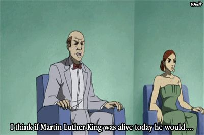 """""""I think if Martin Luther King was alive today he would..."""""""