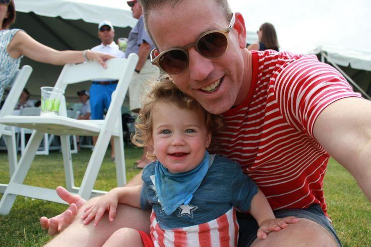 4th of July with my youngest - here's Frank! #daddy #love #family #dad #daughter #baby