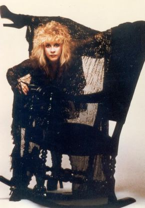 "Stevie Nicks ""Rock A Little"" album outtake photo by Herbert Worthington III 1985"
