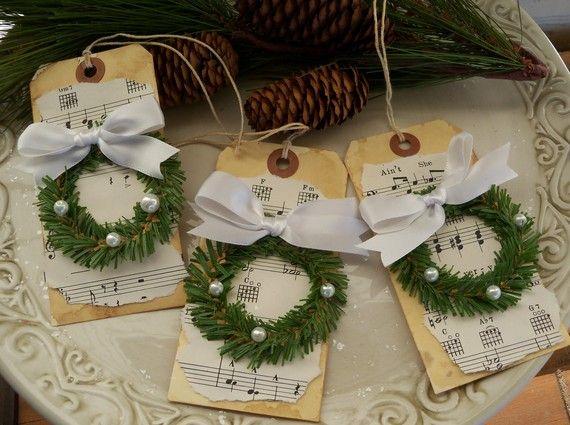 Wreath tags