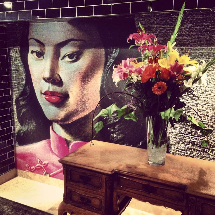 """""""Miss Wong"""" adds a dash of colour to your space while still giving you a stately feel."""