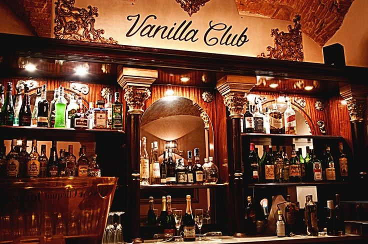 Vanilla Club: you will need to know a secret password to get in this bar!