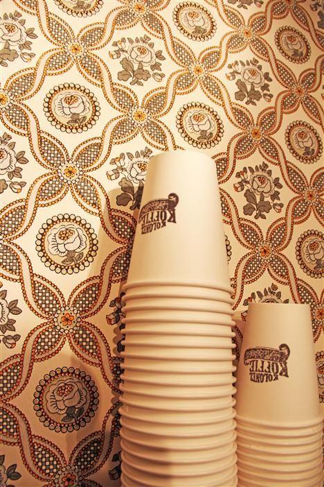 Kolonel Koffie http://www.newplacestobe.com/region/antwerp/kolonel-koffie-antwerpen #coffeecups #coffee