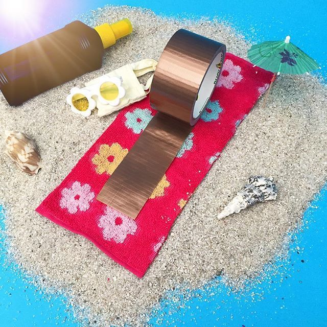 There is no need to lay out in the hot sun to get this bronze look. Duck® brand's new bronze colored duct tape print is perfect for any craft, DIY purse or wallet that you want to create. http://duckbrand.com/products/duck-tape/colors/standard-rolls/bronze-188-in-x-20-yd?utm_campaign=color-duck-tape-general&utm_medium=social&utm_source=pinterest.com&utm_content=color-duct-tape