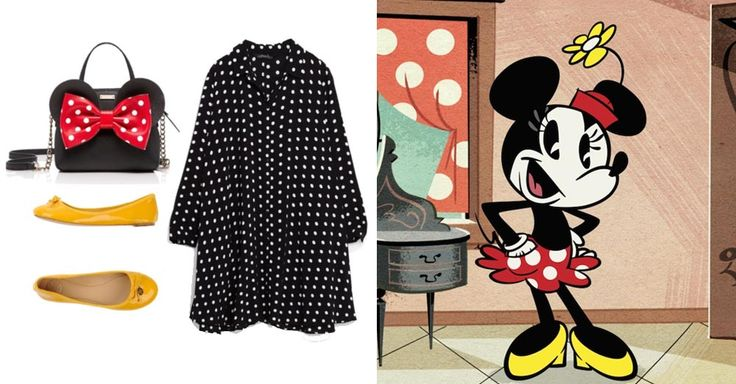You Pretty Much Need These 14 Novelty Bags to Complete Your Next DisneyBound Look | Minnie Mouse-inspired outfit + Kate Spade Minnie ear purse | [ http://di.sn/6000B7fNi ]