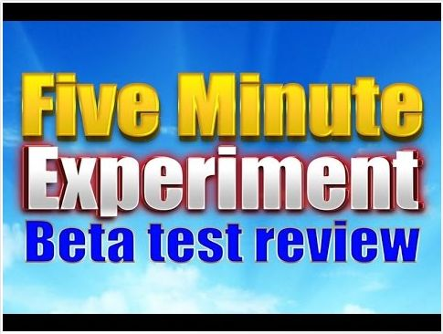 Five Minute Experiment Review - Scam or Real?