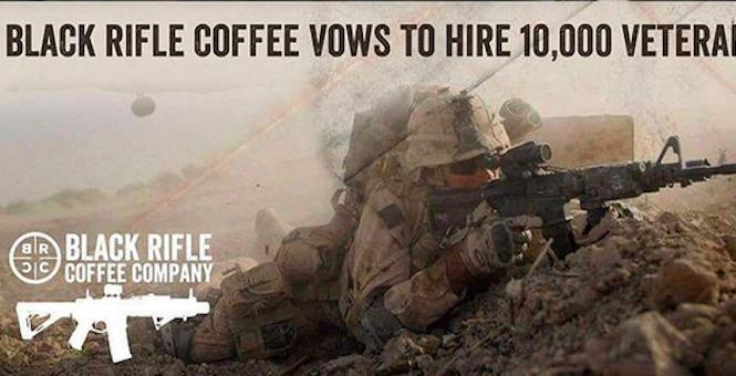Black Rifle Coffee Company Takes on Starbucks: We're Hiring 10,000 Veterans - Katie Pavlich