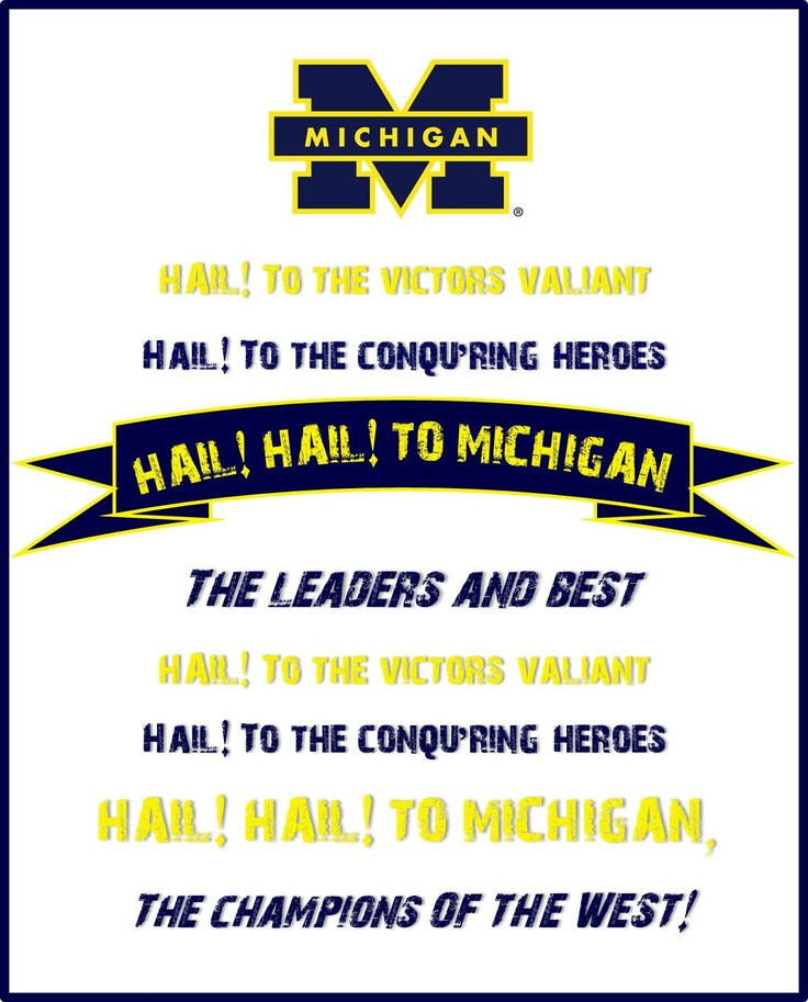 Lyric high school fight song lyrics : Best 25+ Michigan fight song ideas on Pinterest | University of ...