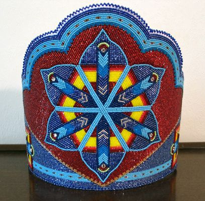 25+ best ideas about Powwow beadwork on Pinterest | Native ...