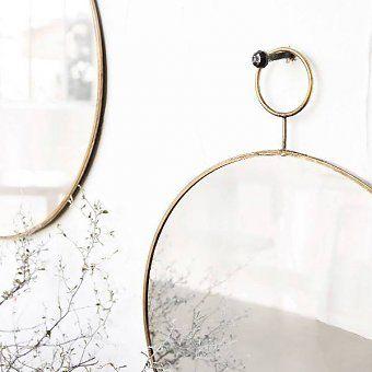 House Doctor spiegel The Loop 38 cm  - Deens