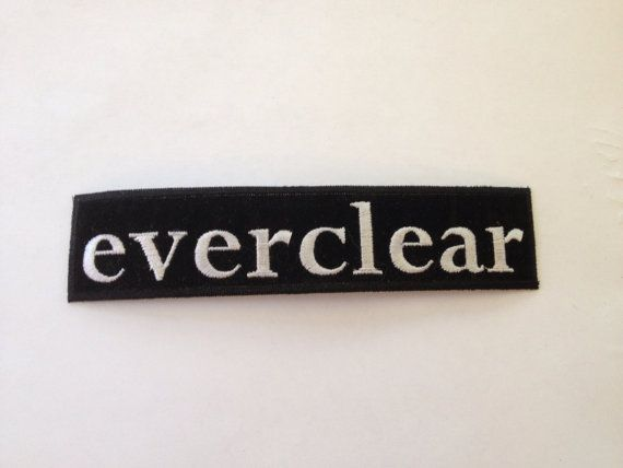 Everclear Band Patch Black & White Embroidered by Rocknsportstore, $5.99