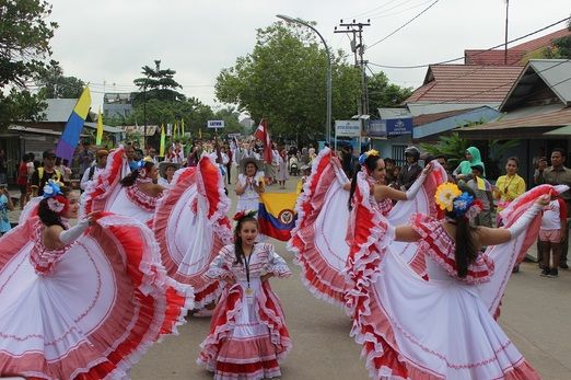 Colombian dance: Erau Festival become an international event and attract global media attention as well as tourists to l...