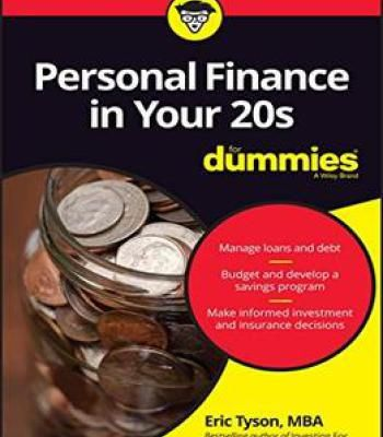 Personal Finance In Your 20s For Dummies PDF