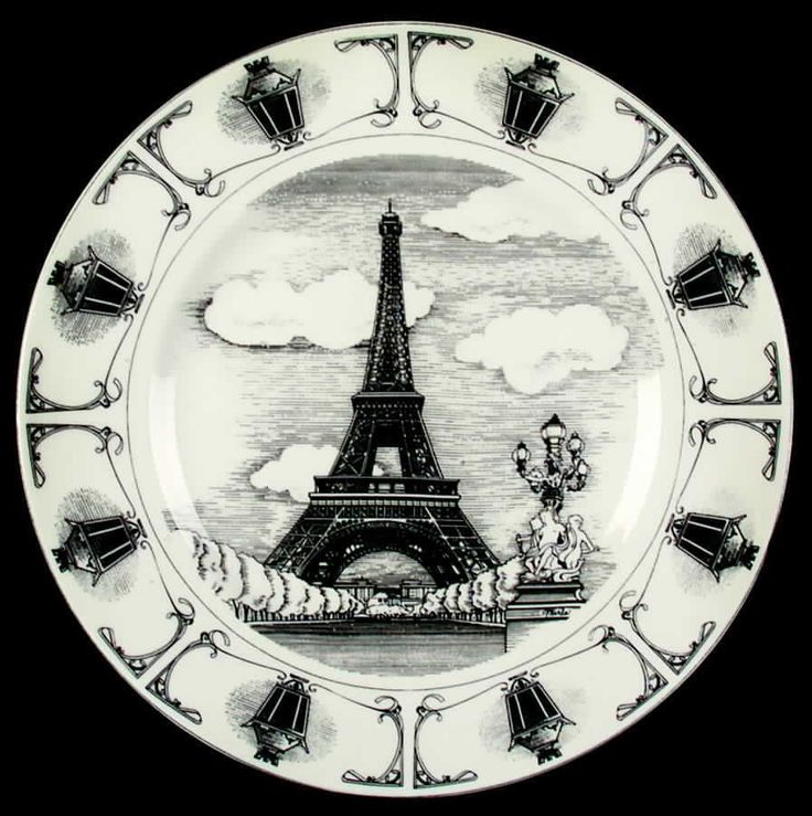 222 Fifth SLICE OF LIFE Eiffel Tower Dinner Plate 2638876 #222Fifth  sc 1 st  Pinterest & 88 best Slice of Life images on Pinterest | Slice of life Salad ...