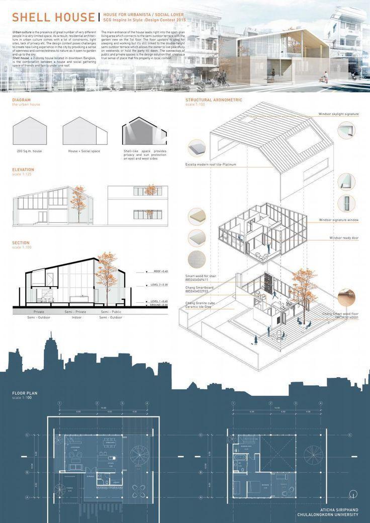 Aticha Siriphand Architecture Portfolio 2016 From Clippedonissuu Architecture In 2020 Architecture Portfolio Design Concept Board Architecture Layout Architecture