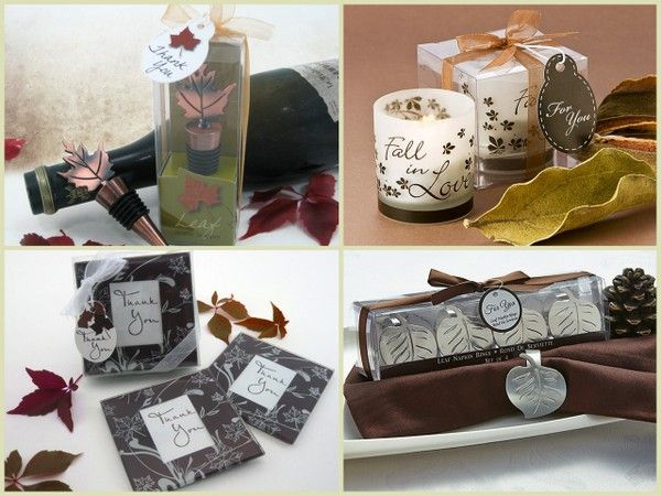 fall wedding favors from hotref.com