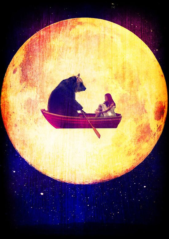 Poster | MOON FLIGHT von Rubbishmonkey | more posters at http://moreposter.de