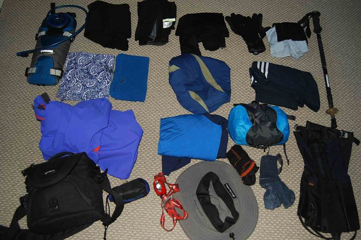 Packing for the Ball Pass - Mt Cook Aoraki