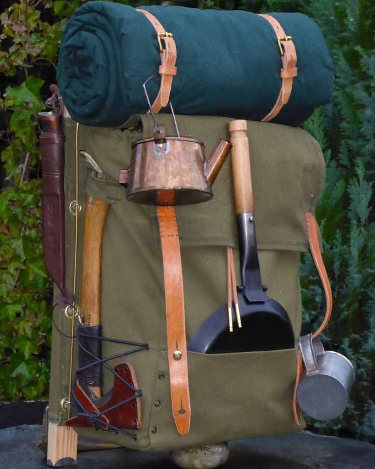 how to pack a rucksack for camping