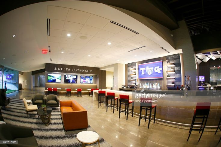 General image of The Delta Sky 360 Club inside the new $1.5 biilion Mercedes-Benz Stadium on September 3, 2017 in Atlanta, GA.