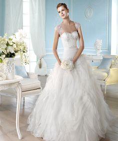 Vestidos de novia corte princesa: un cuento de hadas - Moda - NUPCIAS Magazine