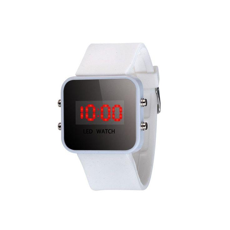 2016 New Arrival, 10 Colors Kids Watch Unisex LED Screen Digital Silicone Strap Girl Boy Relogio Quartz Sport Kids Wrist Watch