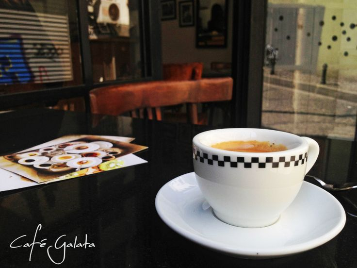 Once Upon A Time Espresso at Cafe Galata