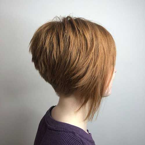 Geschichtete Bob-Frisuren