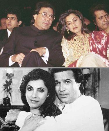 Dimple Kapadia & Rajesh Khanna