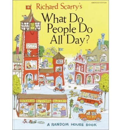 The first Richard Scarry book we bought the kids - and it's our favourite!
