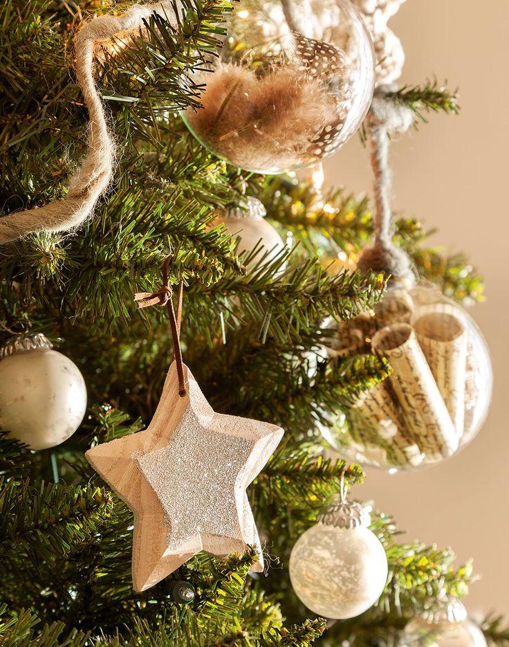 Una casa de Navidad en blanco y oro · ElMueble.com · Navidad: