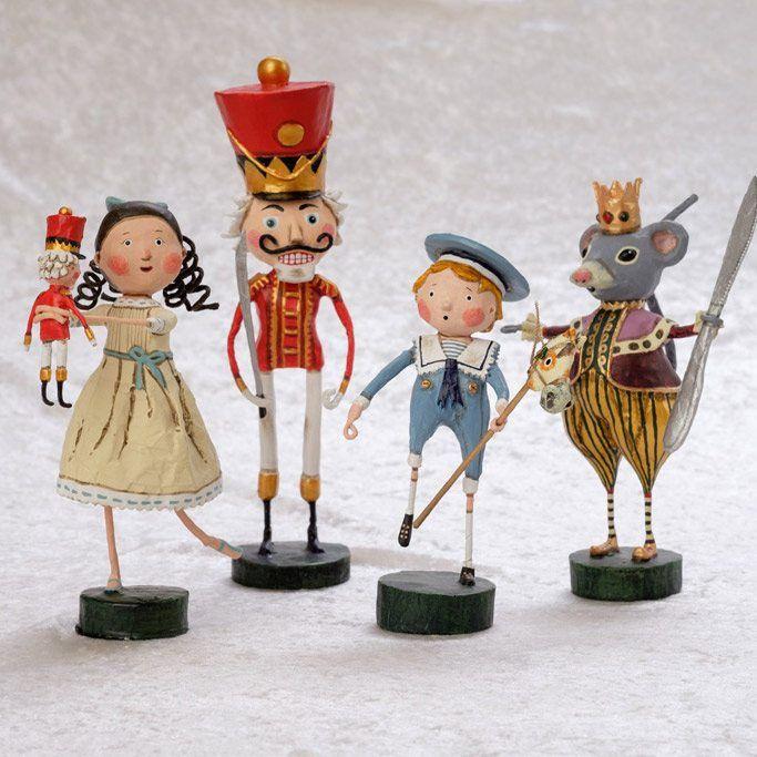 Lori Mitchell Nutcracker Ballet Figurines